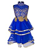 Addyvero Persian blue Girls Gown Dress