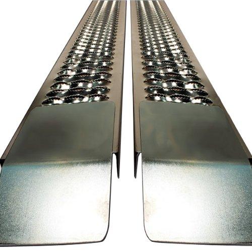 Auffahrrampe Autorampe Auffahrschiene Verladerampe Schiene Rampe PKW Auto 2 St. 400 kg