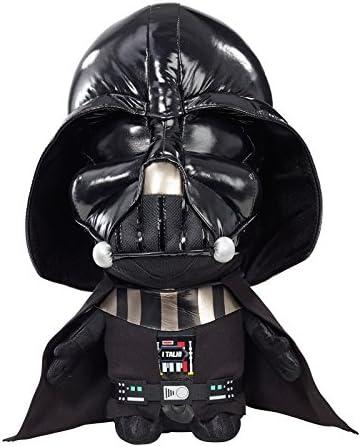 Jazwares Star Wars Peluche parlante, 00223J, Noir, Taille Unique   L'apparence élégante