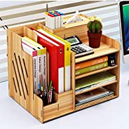 Office Desk Organizer Accessory Station Desktop Stationary Station Paper Filer Tray Organization Office Desk F