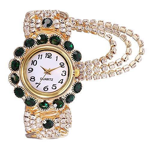LILIGOD Damen Mode Uhr Lässig Quarzuhr Khorasan Legierung Armbanduhr Frauen Elegant Wild Uhren Legierung Exquisite Damenuhr Kreative Fringe Quarz Armbanduhr Modelle kh080 (Kreative Kostüm Billig)