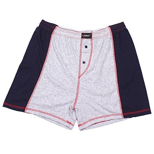 3er Pack Herren Boxershorts in Übergröße Nr. 395 - Farben und Muster können variieren (10, Mehrfarbig) - 4