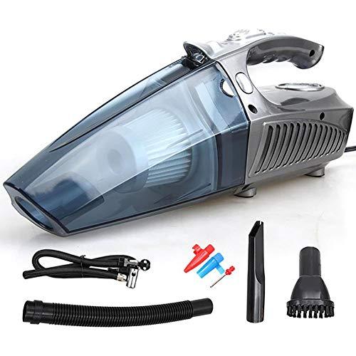 WYYHAA 4 in 1 Multifunktions Handstaubsauger/Luftverdichter-Gummireifen Mit LED-Licht 120W 4 Kpa Beweglichem Drahtlosen Auto-Vakuum Für Kfz-Reinigung,B