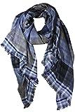 Sciarpa di Cashmere Grigio e Marrone uomo molto morbido e calda sciarpa 5 en 1 - 180 CM X 72 CM - 100% Cashmere - Colore Marrone,Blu,Grigio,Beige