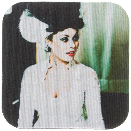 2Die Braut von Frankenstein in Cool Tones mit eine Narbe auf Ihrem Neck-Soft Untersetzer, Set von 8 ()
