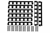 13m SHS Rasenkanten 40mm Beeteinfassung Mähkante Beetumrandung Raseneinfassung Plattenhalter Schiene Pave Edge Rasenkante