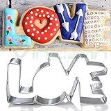 Stampino Love forma stampo formina amore dolci biscotto tagliabiscotti cake