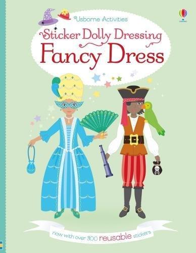 Sticker Dolly Dressing Fancy Dress (Shops Fancy Dress Childrens)