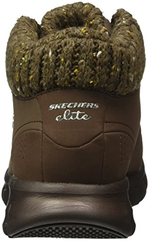 Skechers Synergy Winter Nights, Stivali Bassi Non Imbottiti Donna Marrone (CHOC)