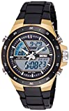#5: Skmei Analogue-Digital Black Dial Men's Watch - 1016