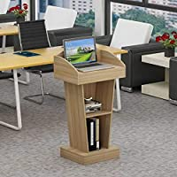 SQINAA Stand up lectern,Impromptu podium Workstation Laptop notebook computer stand for school The company Meeting room-C 60x40x103cm(24x16x41)
