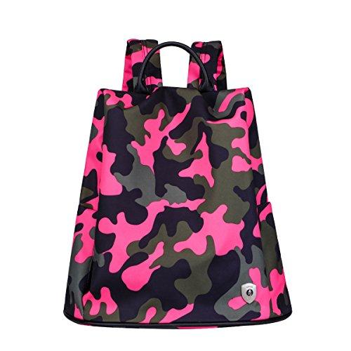 HapiLeap , Damen Rucksackhandtasche Einheitsgröße Camouflage A