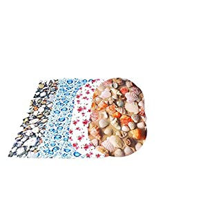 Badewanneneinlage 70 x 36 cm Badewannenmatte Wanneneinlage Antirutschmatte (Wassertropfen)