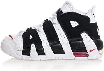 Nike Air More Uptempo (GS) Sneaker Scottie Pippen White Black Red 415082105