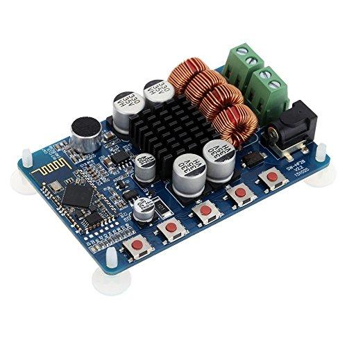 WINGONEER TPA3116 Bluetooth 4.0 Dos canales de audio estéreo 2x50W Alimentación del receptor del módulo tablero del amplificador