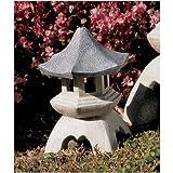 Design Toscano NG729869 mittelgroß Asiatische Pagode Laterne Statue