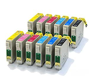 12 Compatible Printer Ink Cartridges for Epson Stylus Photo 1500W