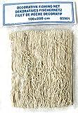 Deko Fischernetz Beige Baumwolle ca. 100x200cm Dekonetz