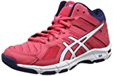 Asics Damen Gel-Beyond 5 MT Gymnastikschuhe, Rot (Rouge Red/White/Indigo Blue), 40.5 EU