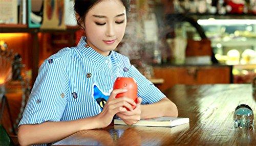 Preisvergleich Produktbild QI Zitronenaroma Luftbefeuchter Luftbefeuchter Mini-Luftreiniger Usb Büroschreibtisch Luftbefeuchter , Red , 8*8*11.2Cm,red,8*8*11.2cm