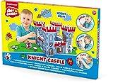 Spielburg aus Pappe | Ritterburg | Pappspielhaus | Malhaus | Ritterburg | von ArtBerry für Kinder