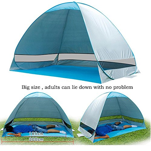 ?Big size?G4Free Outdoor Automatic Pop up Instant Portable Cabana Family Beach Tent ...  sc 1 st  UK Sports Outdoors C&ing Hiking Jogging Gym fitness wear Yoga & Big size?G4Free Outdoor Automatic Pop up Instant Portable Cabana ...