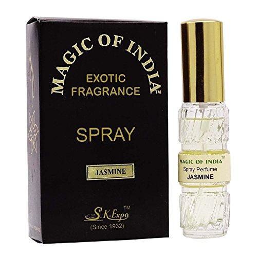 Magie Indiens Jasmin Natürlichen Exotischen Duft Duftstoffspray - 20 ml (Parfümöl Natürliche)
