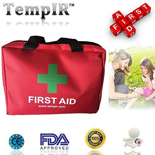 Erste-Hilfe-Set mit über 100 Teilen, für Reisen, Auto, zu Hause, Wohnwagen - 2