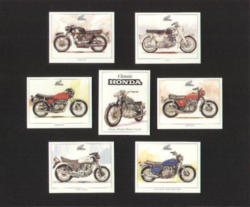 Classic Honda Motorrad-C77, (Vergleichsnr:, CB750, Ansaugstutzen CB400/4, GL1000Gold Wing, CBX1000-Sammler Karten