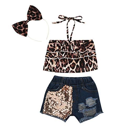 Cwemimifa Säugling Babykleidung Junge Blau,Kleinkind Baby Mädchen ärmellose Rüschen Feste Weste Tops + Floral Print Shorts Outfits,Angel-Pullover & -Sweatshirts für Herren,