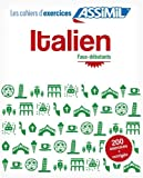 Cahier d'exercices Italien
