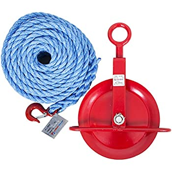30 Metres 18mm Ginny Rope with Catch Hook
