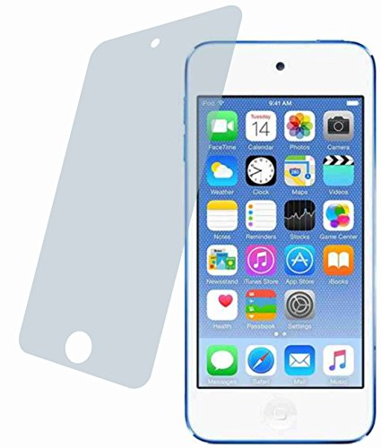 4ProTec 2X Crystal Clear klar 3D Touch Schutzfolie für Apple iPod Touch 6, 6G Premium Displayschutzfolie Bildschirmschutzfolie Display Schutz Glas Schutzhülle Displayschutz Displayfolie Folie Premium Ipod Touch