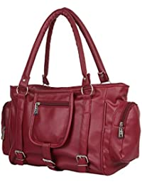 Glory Fashion Women's Handbag (Maroon,Bags Beautys)