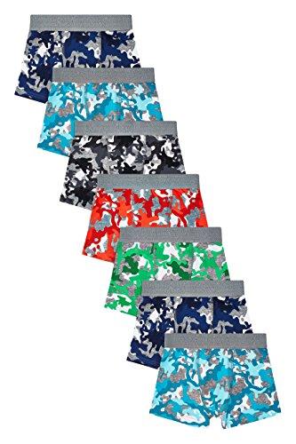 ge Boxershorts 7Er Pack Mehrfarbig 9-10 Jahre ()
