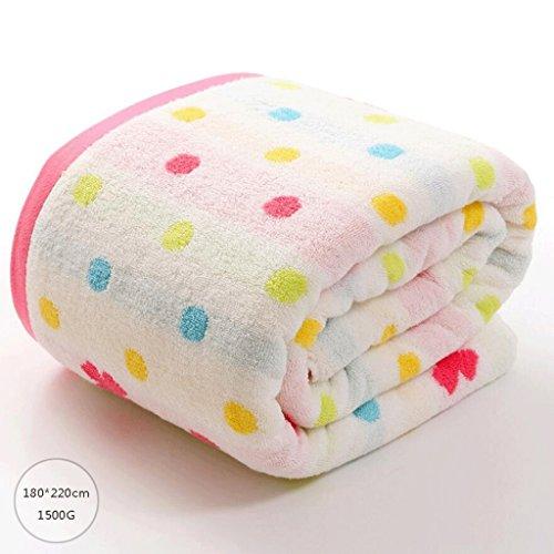 ZLR Solide Baumwolle Klimatisierte Handtuchdecke Doppel Handtuchdecke Weiche, saugfähige Decke ( Farbe : A ) (Doppel-kapuze)