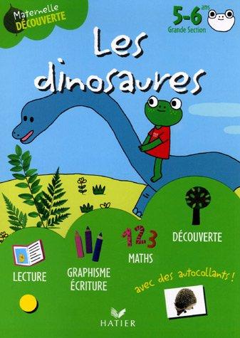 Les dinosaures avec Gribouille la grenouille 5-6 ans Grande Section