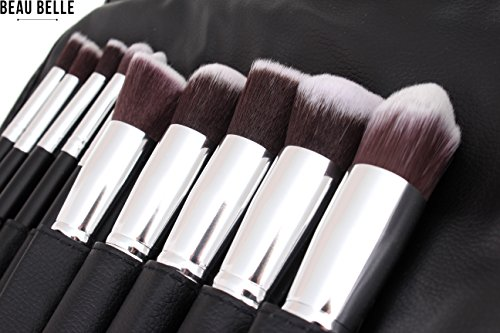 Beau Belle Kabuki Brush Set - Pinceaux Maquillage - Pinceaux Maquillage Professionnel - Makeup Brushes - Pinceaux - Kabuki Pinceau - Pinceau Maquillage - Makeup Brushes Set - Make Up Brushes Set - Maquillage Professionnel - Make Up Brush Set - Kit Pinceaux Maquillage Professionnel