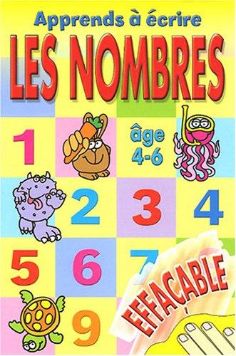 Apprends à écrire les nombres par Heather Heyworth