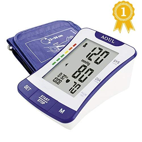 AOUL BP-1307 Tensiómetro brazo digital detección