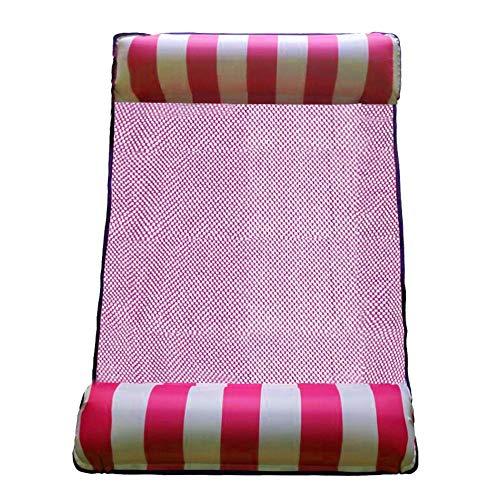 ch hin- und herbewegender Reihen-Wasser-Unterhaltungs-aufblasbarer Bett-Sofa-Stuhl (Rosa) ()