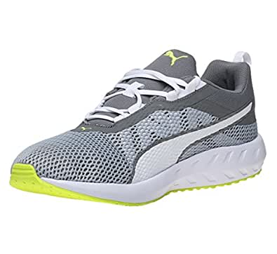 Puma Men's Flare 2 Quiet Shade and White Running Shoes - 6 UK/India (39 EU)