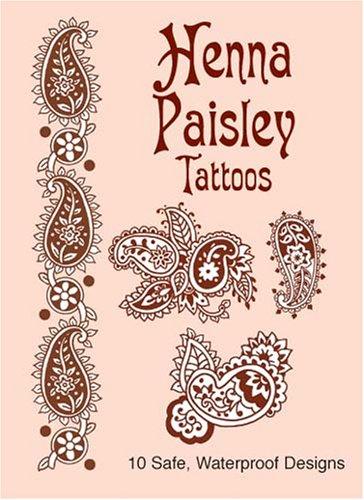 Henna Paisley Tattoos (Dover Tattoos)
