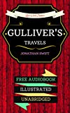 Image de Gulliver's Travels: By Jonathan Swift  & Illustrated (An Audiobook Free!) (Engli