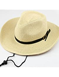 6da64cdf2a4 Coromose Multifunction Sunshade Hat Men Kids Big Eave Sunshade Hat Cowboy  Straw Hat Cap for