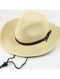 98b026bc266 Coromose Multifunction Sunshade Hat Men Kids Big Eave Sunshade Hat Cowboy  Straw Hat Cap for