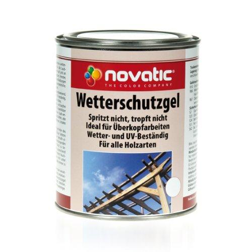 novatic WETTERSCHUTZ-GEL 2,5 l PALISANDER