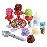 Playgo 23-tlg. Eisdiele Eiscreme Schaufel Spielzeug Kaufladen Lebensmittel 3576