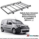 Galerie Renault Kangoo III (L1) sans Girafon - (2014 - .) - Acier Galvanisé -...