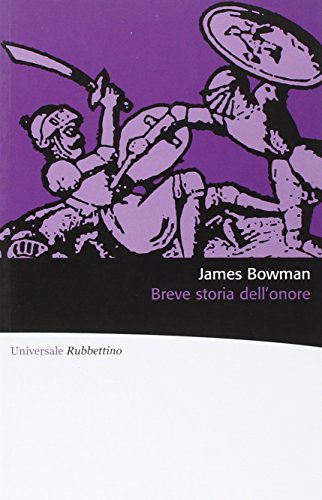 Zoom IMG-3 breve storia dell onore